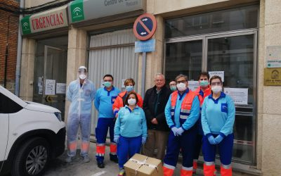 La Cooperativa San Benito dona material sanitario para luchar contra el coronavirus